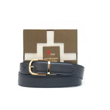 nae - Vegan Belt Reversible Golden Buckle Cinturón vegano reversible dos colores