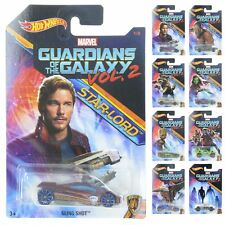 Marvel Guardians Of The Galaxy Vol 2 Hot Wheels Cars Diecast Vehicles