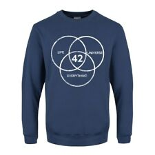 The Answer To Life, The Universe & Everything Men's Airforce Blue Sweater