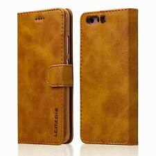 Case Cover For Huawei P9 P10 P10 Plus Luxury Ultra Thin Leather Flip Wallet