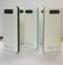 50000mAh Power Bank LED 3 USB External Battery Charger For iPhone, Samsung UK