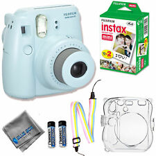 Fujifilm Instax Mini 8 Camera + Fuji Instant Film (20 Exposures)  + Custom Case