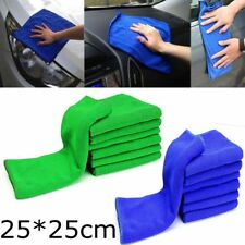 10Pcs Soft Absorbent Wash Cloth Car Auto Care Microfiber Cleaning Polish Towels