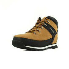 Chaussures Boots Timberland unisexe Euro Sprint Nubuck taille Jaune Cuir Lacets