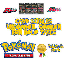 Pokemon Team Rocket Set Card Singles: Common, Uncommon & Rare Pokemon Cards