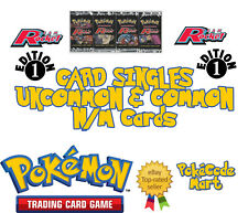 Pokemon Team Rocket Set 1st Edition Card Singles: Common & Uncommon Played-NM