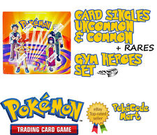 Pokemon TCG Gym Heroes Card Selection: Commons, uncommons, rares Brocks Blaines