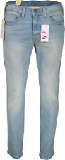 NEW MENS LEVI LEVIS JEANS 511 SLIM STRAIGHT FIT - Light Wash Stretch Denim Jeans