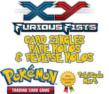 Pokemon XY Furious Fists Cards Selection: Rare Holo, Rev Holo & EX Card Singles