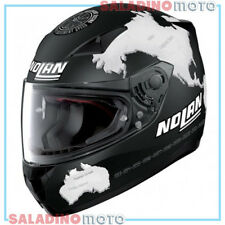 CASCO INTEGRALE MOTO NOLAN N60-5 GEMINI REPLICA C. CHECA FLAT BLACK 28
