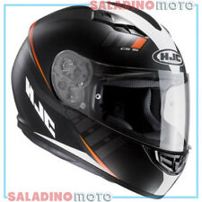 CASCO INTEGRALE MOTO HJC CS-15 SPACE MC7SF NERO BIANCO ARANCIONE