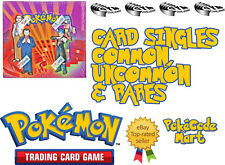 Pokemon Gym Challenge Card Selection: Commons, uncommons, rares (/132)