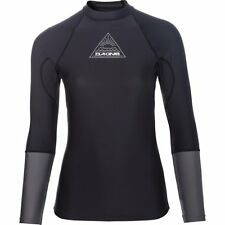 DAKINE Flow Donna Lycra Rash Guard surfshirt maniche lunghe Black
