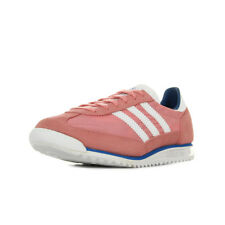 Chaussures Baskets adidas femme SL 72 W taille Rose Suède Lacets