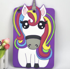 ANIMALETTO UNICORNO GRAZIOSO 3D in silicone per tablet custodia cover TPU