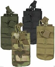 Viper Tactical Duo Single Mag Pouch Military MOLLE Airsoft V-Cam, Coyote, Green