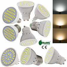 AU REGOLABILE GU10/MR16/E27 LED riflettore 2835/5730 SMD lampadina 4w 5w