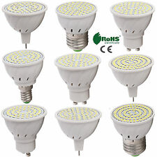 GU10 MR16 E27 LED lampadina per riflettore 2835 SMD 4W 5W 6W Ultra Luminoso