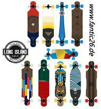 %VENDITA% Long Island Longboard GOCCIA THROGH DH INCROCIATORE Bear Trucks assi