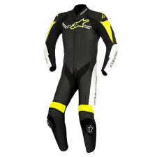Alpinestars Challenger V2 Black / White / Fluo Yellow One Piece Suit All Sizes