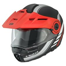 Held Schuberth h-e1 ADVENTURE NEGRO/antracita MOTO CASCO MODULAR