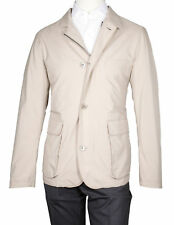 LORO PIANA Roadster S Viento Hopkins Chaqueta en color beige REG. jum00107