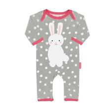 Toby Tiger Bunny Applique Sleepsuit Organic Cotton Babygrow Sleepsuit