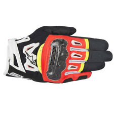 ALPINESTARS SMX -2 Air Carbon V2 Noir / rouge/ blanc/ jaune gants