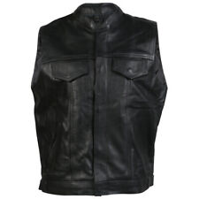 hommes classe A Cuir Sons Of Anarchy Style Moto / MOTO gilet