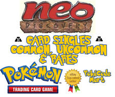 Pokemon TCG Neo Discovery Cards: Common, Uncommon & Rares Selection (/75)