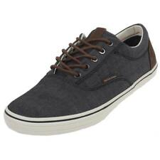 Chaussures basses toile Jack and jones Vision chambray mix anth Gris 43924 - Neu