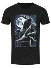 Requiem Collective Enslaved Reaper Men's Heather Black Denim T-shirt