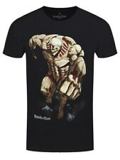 Attack on Titan Armoured Titan Men's Black T-shirt