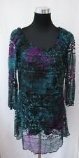 MARKS & SPENCER PER UNA LACE EFFECT LONG TOP BNWT