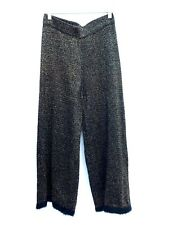 ZARA SHIMMERY HIGH WAIST TROUSERS SIZE MEDIUM REF 8234 101