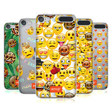UFFICIALE EMOJI NUOVE ESPRESSIONI COVER RETRO RIGIDA PER APPLE iPOD TOUCH MP3