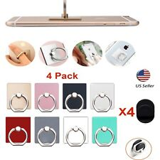 4Pack 360° Universal Rotating Finger Ring Stand Holder Mounts For Cell phone