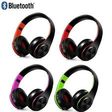 Pieghevole 3.5mm Wireless Bluetooth Stereo Music Cuffie Over-Ear Auricolari W6E0
