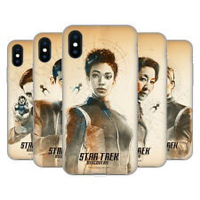 OFFICIAL STAR TREK DISCOVERY GRUNGE CHARACTERS GEL CASE FOR APPLE iPHONE PHONES