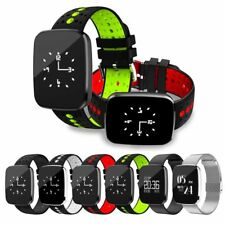 V6 Sport Bluetooth Smart Watch Fitness Tracker Heart Rate GPS For Android iOS