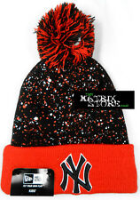 NEW ERA MLB SEASONAL SPECK KIDS BEANIE - NEW YORK YANKEES NY - Black/Scarlet