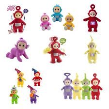 Teletubbies Toy Plush Various designs Tiddly Talking Dancing Jumping Party NEW