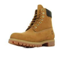 Chaussures Boots Timberland homme AF 6 IN Premium taille Jaune Cuir Lacets