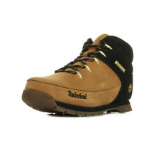 Chaussures Boots Timberland garçon Euro Sprint Wheat taille Beige Nubuck Lacets