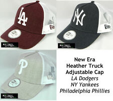 NEW ERA HEATHERTRUCK MLB ADJUSTABLE CAP - LA DODGERS/NY YANKEES/PHILLIES