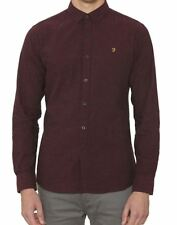 Farah Steen Shirt in Bordeaux