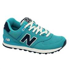 New Balance 574 Pique Polo Pack Trainer | Teal with Navy