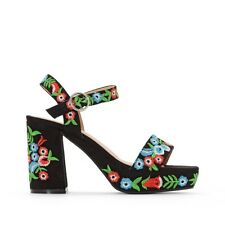 Mademoiselle R Womens Embroidered Sandals