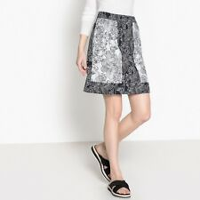 La Redoute Collections Womens Floral Print Skirtnbsp
