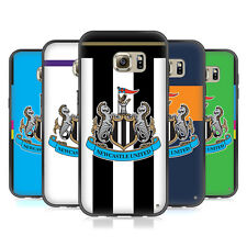 NEWCASTLE UNITED FC 2016/17 KIT FIT HYBRID ICED CASE PER HUAWEI SAMSUNG TELEFONI